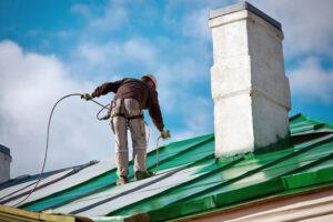 professional roof coating